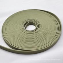 Tiras de guia de PTFE resistentes ao desgaste para vedações hidráulicas
