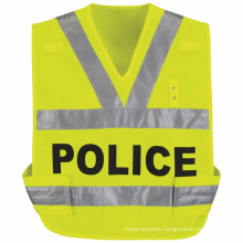 100% Polyester Mesh Safety Vest with Reflective Tape