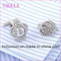 VAGULA Quality Hot Sales Crown Gemelos Cufflinks  (329)
