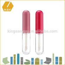 Kissproof bunte Kunststoff-Aluminium-Cap Private Label Container Lip Glanz Rohr