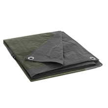 Black color PE tarpaulin waterproof with eyelet