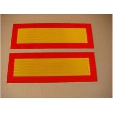 Новый дизайн Индивидуальный цветной отражающий треугольник и алюминиевый лист