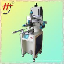 Screen printing machine for plastic bottles