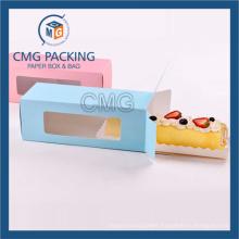The Long Shape Retangular Macarons Packing Box (CMG-cake box-010)