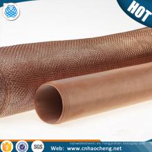 Papel ultra fino que hace la malla del filtro de alambre de la impresión del papel de bronce del fósforo del bronce del fósforo