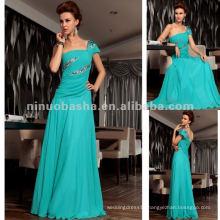 NY-2575 Instock Teal Green Elegant Womens Evening Dress