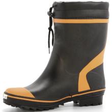 bottes de pluie en caoutchouc pour hommes portable pratique