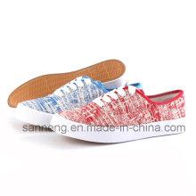 Zapatos de lona Zapatos de mujer con buen precio (SNC-24237)