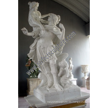Escultura de mármol para el ornamento del jardín (SY-X1726)