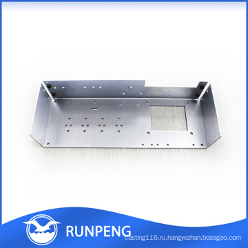 Подгонянная точность способа изготовленный на заказ CNC металлического листа пробивая части