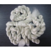 China Professional Supplier Combed Cashmere Tops White 15.5-16.5mic 44mm
