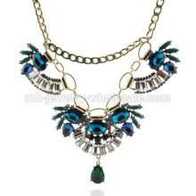 Смола ссылка бусины бронзовые цепи ожерелье для женщин