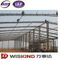 Fácil instalación de estructura de acero de acero de taller