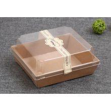 Boîte d'emballage Kraft Paper Brown Sandwich