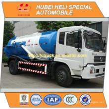 new DONGFENG DFL 4x2 10000L vacuum suction sewage truck cummins engine 190hp with vacuum pump