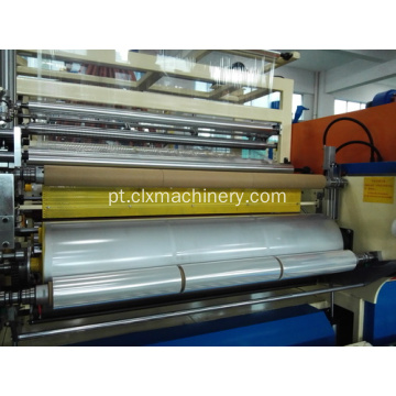 Wrapping Stretch Film Extrusion Machinery Preço