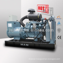 50HZ 280kw MAN diesel generator set 350kva generator with German MAN engine