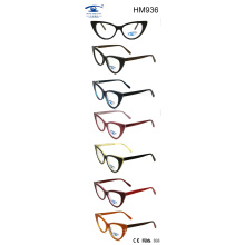Cat Shape Glasses Opticals with New Design Acetate Eyewear (HM936)
