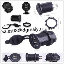 Motorrad / Auto Single Dual 3.1aus Autobatterie