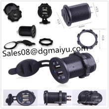 Motorcycle / Car Single Dual 3.1ausb Car Charger