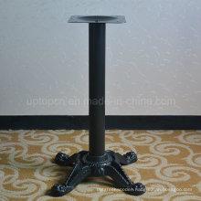 Antique Cross Four Prong Cafe Cast Iron Table Leg (SP-MTL125)