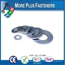 Fabriqué à Taiwan Rondelle plate Rondelle plate en acier inoxydable Rondelle plate épaisse