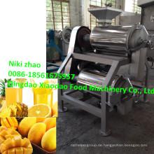 Mango-Doppelpulper-Maschine / Doppelkanal-Mango-Pulper-Maschine