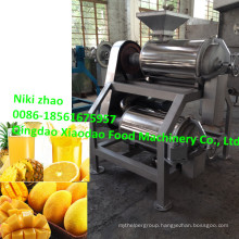 Mango Double Pulper Machine/ Double Channel Mango Pulper Machine
