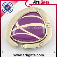 Nuevo diseño moda metal dama bolso gancho