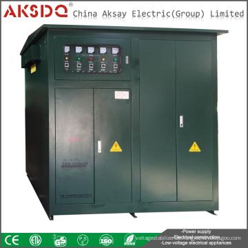 Heißer SBW 1000Kva Dreiphasen-Hochleistungs-Unterton Automatische Kompensation Leistungsspannungsstabilisator Yueqing