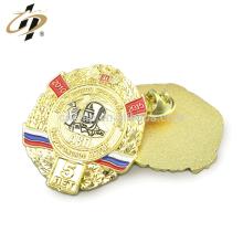 Shuanghua fábrica personalizado esmalte de metal lapela pin