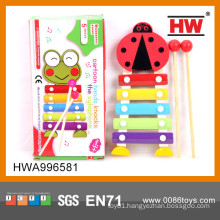 2015 Most Popular wooden Bee Kids Piano wood musical instrument