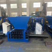 Máquina de prensa enfardadeira para latas de alumínio do tipo funil