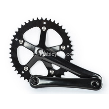 Single-Speed Bike Chainwheel e manivela