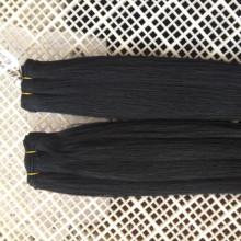 La mayoría de Yaki natural rizado natural brasileño visón 10A paquetes de pelo fábrica por encargo