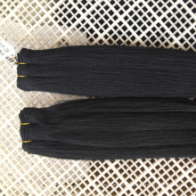 Plus Populaire Yaki Naturel Crépus Droite Brésilienne Vison 10A Cheveux Bundles Usine Sur Mesure