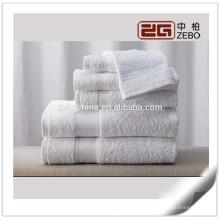 O mais novo estilo Sateen personalizado Terry 16s decorativos toalha de banho conjuntos