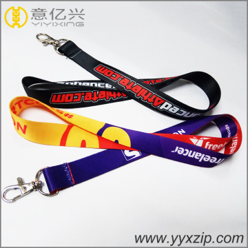 ID Business Card Lanyards com gancho de lagosta