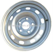 Preço de Fábrica Preço Prata Steel Car Rim de 15x6.0 '' para o carro de passageiro