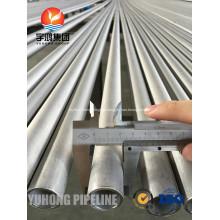 Tubulação de aço inoxidável Super Duplex ASME SA790 S31260
