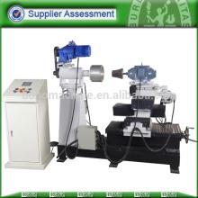 Hydraulic aluminum utensil buffing machines