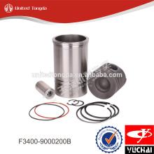 Kit de chemise de cylindre de moteur Yuchai F3400-9000200B * pour YC4F
