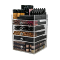Acrylic 5 Drawers Makeup Organizer Storage Box