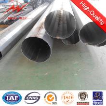 Octogonal 11.8m 500dan Galvanisierter Stahl-Lichtmast für die Kraftübertragung