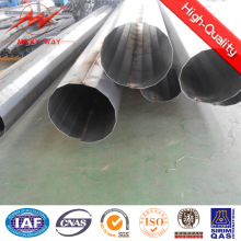 Octogonal 11.8m 500dan Galvanized Steel Light Pole for Power Transmission