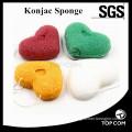makeup sponge/ konjac sponge cleansing wholesale/ round konjac sponge