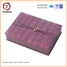 Boîte cadeau en carton personnalisé pour l'artisanat