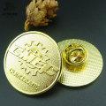 Заливки формы изготовленный на заказ Золотая булавка логотип значок металла для Выдвиженческого подарка