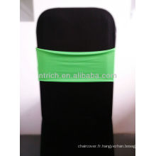 Superbe Spandex Sash, ceinture en Lycra, vert