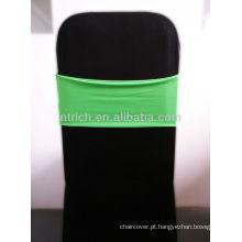 Linda faixa do Spandex, Lycra Sash, verde